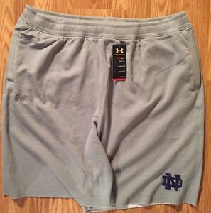 Notre Dame Football Team Issued Under Armour Shorts New Xl