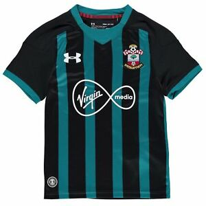 Under Armour Kids Southampton Away Shirt 2017 2018 Junior Tee Top Short Sleeve