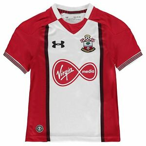 Under Armour Kids Southampton Home Shirt 2017 2018 Junior Tee Top Short Sleeve