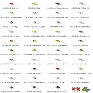Strike King Crankbait 3XD Deep Diver Rattling Any 39 Colors Pro Model Lures