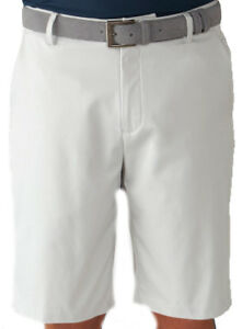 Ashworth Stretch Flat Front Short Pebble 34