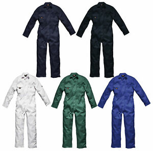Mens Dickies Redhawk Coverall Overalls Boiler Suit Studden WD4819 Size Colour