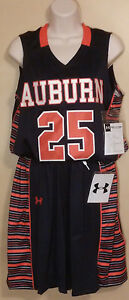 Womens Auburn Tigers Large Basketball JerseyShorts #25 Under Armour NCAA $190