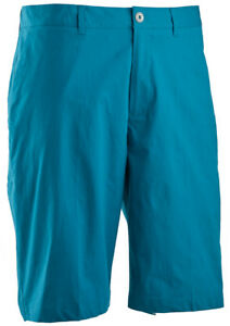 Ashworth Stretch Pinstripe Slub Short Sea Green 34