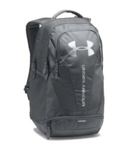 Under Armour Storm HeatGear UA Hustle 3.0 Backpack Water-Resistant Graphite 30L