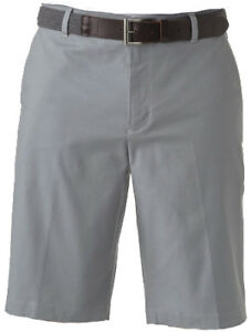 Ashworth Mini Check Short Grey 34