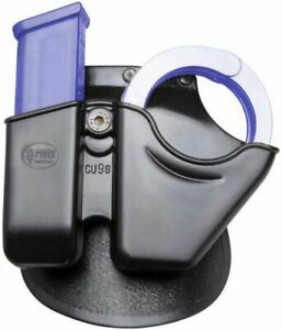 Fobus Handcuff  Mag Combo - 9mm & 40 Cal. Univ Dbl Stack CU9
