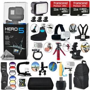GoPro Hero5 Black 4K Camera + 6PC Graduated Filter Set + Backpack - 64GB Kit