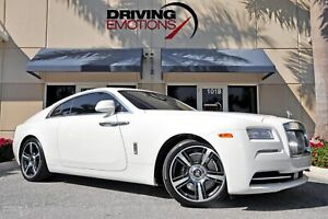2014 Rolls-Royce Wraith -- 2014 Rolls-Royce Wraith  7385 Miles English White Coupe V12 6.6L Automatic