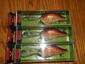 RAPALA DTMSS-20's--lot of 3 MULE COLORED-FISHING LURES-DTMSS20