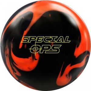 900 Global Special Ops Bowling Ball Reactive with Hook and Asymmetrical Core
