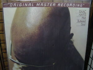 ISAAC HAYES HOT BUTTERED SOUL MFSL 180 GRAM AUDIOPHILE RARE Sealed 12 Speed LP