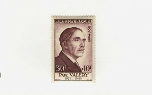 1954 France  SC #B290 PAUL VALERY French Notable MNH stamp