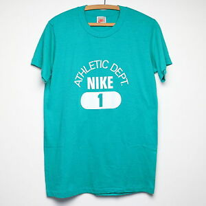 Nike Shirt Vintage tshirt 1990s Athletic Department Just Do It Sports tee 90s