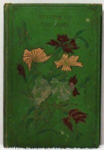 1899 ETHICS OF THE DUST John Ruskin Henry Altemus Publisher Minerals Lectures