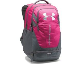*NEW* Under Armour Heat Gear UA Storm Hustle 3.0 Water Resistant Backpack Pink