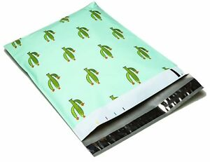 CactusPineapple Designer Poly Mailers Plastic Envelopes Shipping Bags