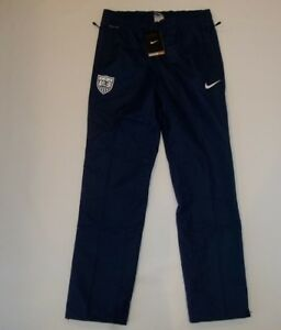 NIKE Storm-Fit Stay Dry Soccer USA National Team Lined Wind PANTS womens SMALL