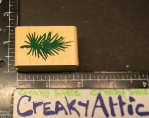 PINE BRANCH SMALL NEEDLES RUBBER STAMP STAMPEDE Z151C $4.02