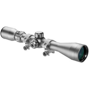 Barska 3-9x  40mm Riflescope 3030 Reticle in Silver with Rings CO11538