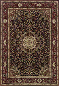 2x10 Runner Sphinx Oriental Brown Oriental 95N Area Rug -Approx 2' 7'' x 9' 4''