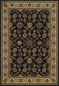 2x8 Runner Sphinx Persian Black Oriental 271D Area Rug - Approx 2' 3'' x 7' 9''