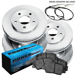 Full Kit Replacement Brake Rotors and Ceramic Brake Pads BLBC.33087.02