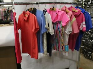 Lot of 50 Small Womens Golf Tops ShirtsVests Sport Haley MSRP $2500