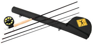 ECHO TRAVERSE KIT 590-4 9' FT #5 WT 4 PC FLY ROD WITH REEL LINE LEADER