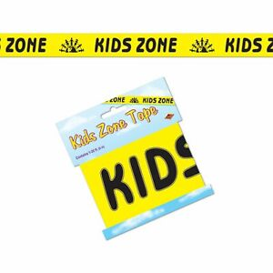 Kids Zone 20ft Party Tape