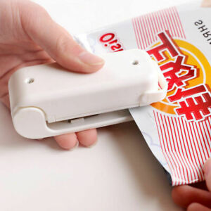 Portable Sealing Tool Heat Mini Handheld Plastic Bag Sealer Food Chips