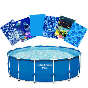Tube Frame Pool Liner Relining Kit; Intex Pool Sizes 12' 15' 16' 18' 22' 24'