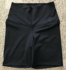Nike Zonal Strength Womens Shorts Compression Black Size Medium 839928-010