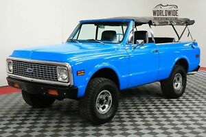1972 Chevrolet Blazer RESTORED 2K MILES 4X4 AUTO CONVERTIBLE CALL 1-877-422-2940! FINANCING! WORLD WIDE SHIPPING. CONSIGNMENT. TRADES. FORD