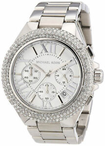 Michael Kors MK5634 Women's Chronograph Camille Stainless Steel Bracelet Watch