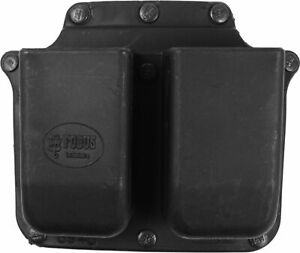 Fobus Double Mag 2.25in. Duty Belt Mount Pouch Rotating 10mm: 6945GNDRB214