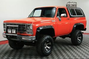 1979 Chevrolet Blazer RESTORED CUSTOM SHOW 4X4 CONVERTIBLE CALL 1-877-422-2940! FINANCING! WORLD WIDE SHIPPING. CONSIGNMENT. TRADES. FORD