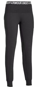 NEW Under Armour Womens Downtown Knit UA Pants XL EXTRA LARGE Black 1264871-001