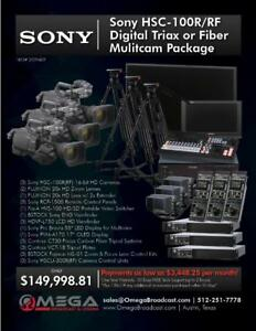 Sony HSC-100RRF Digital Triax or FIber Multicam Package *12 months 0% w AC*