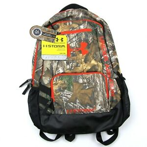 NEW $69 Under Armour Storm Camo Backpack Realtree Xtra Heatgear Water Resistant