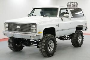CHEVROLET BLAZER $40K+ BUILD FRAME OFF RESTORATION BIG BLOCK CALL 1-877-422-2940! FINANCING! WORLD WIDE SHIPPING. CONSIGNMENT. TRADES. FORD