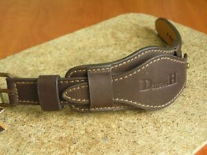 MILITARY DH WATCH STRAP GENUINE LEATHER BAND CUFF BRACELET 22mm PROTECTIVE COVER