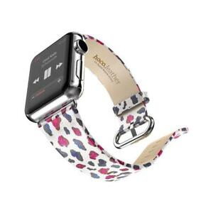 HOCO Apple Watch Band Genuine Leather Strap Bracelet with Metal Buckle