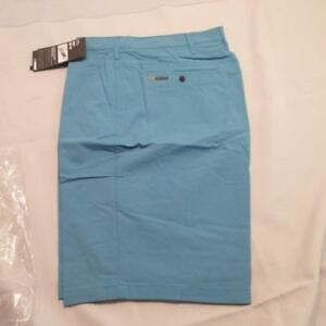 Hurley Nike Dry-Fit Chino Shorts MWS0001810  Color Teal Mens 33 or 34