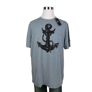 NEW Under Armour UA Project Rock Anchor Men's T-Shirt Gray Size XL Loose Fit NWT