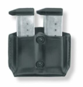 Gould & Goodrich Double Magazine Paddle Pouch Black - For Glock 1719: B831-4
