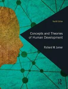 Concepts and Theories of Human Development by Richard M. Lerner Hardcover Book F