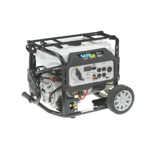 Quipall Dual Fuel Gas Portable Generator 5250DF w/ Electric Start, New