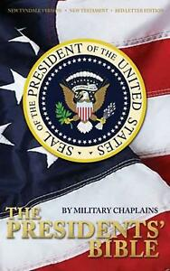 Presidents' Bible by Military Chaplains Hardcover Book Free Shipping!