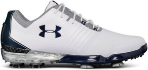 Under Armour Match Play Golf Shoes White 12 Wide